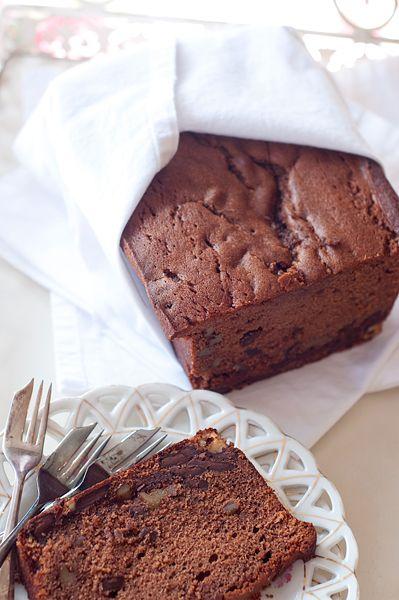Chocolate Walnut Pound Cake