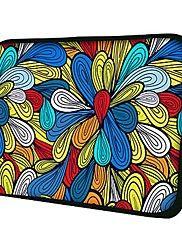Elonno omgivet af blomster neopren laptop sleev... – DKK kr. 51