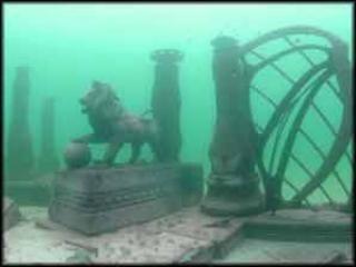 Real Underwater City Lost city, Atla...