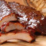 Receta de las Costillas BBQ, paso a paso típica receta americana.