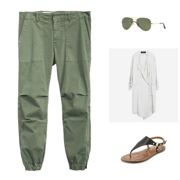 In the summer your casual weekend outfits need to also keep you cool. But what if you really want to wear pants? This outfit is the perfect solution.