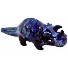 "These 4.5"" Triceratops Animal glass spoon pipes for sale are just stunning, Made from great quality glass for cheap glass pipes prices. If your looking for something different this one has got your name written all over it. Do noot forget every order at this online head shop all orders over $99 gets you free shipping so take a look around there is plenty of unique smoking accessories to be found."