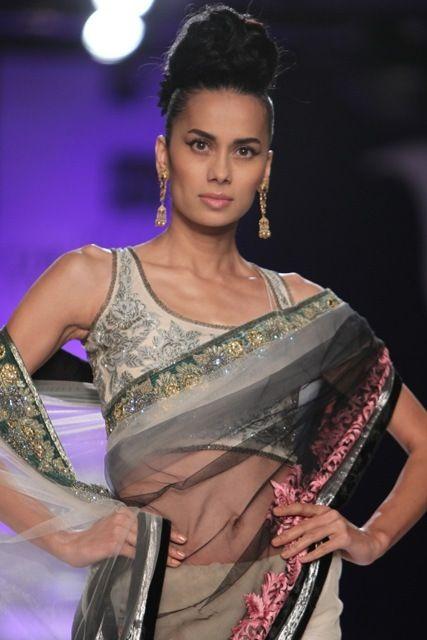 PCJ Delhi Couture Week 2013 ~ find similar lace designs@ www.lacxo.com