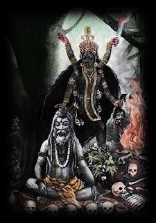 ИНИЦИАЦИИ СВЫШЕ : Шава садхана и  явление Шмашана Тары