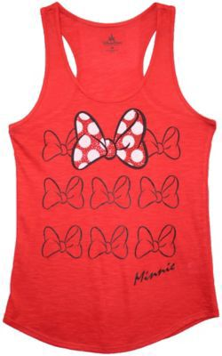 Check out Minnie Bow Tank Tee | Walt Disney World Resort