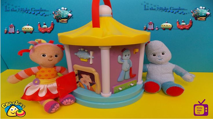 In The Night Garden Toys. NEW. Musical Carousel with Igglepiggle, Upsy D...