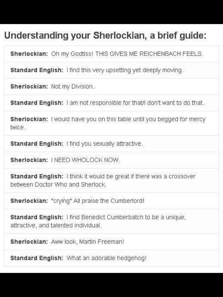 Understanding Your Child S Heart: A Guide To Understanding Your Sherlockian. I'm Really