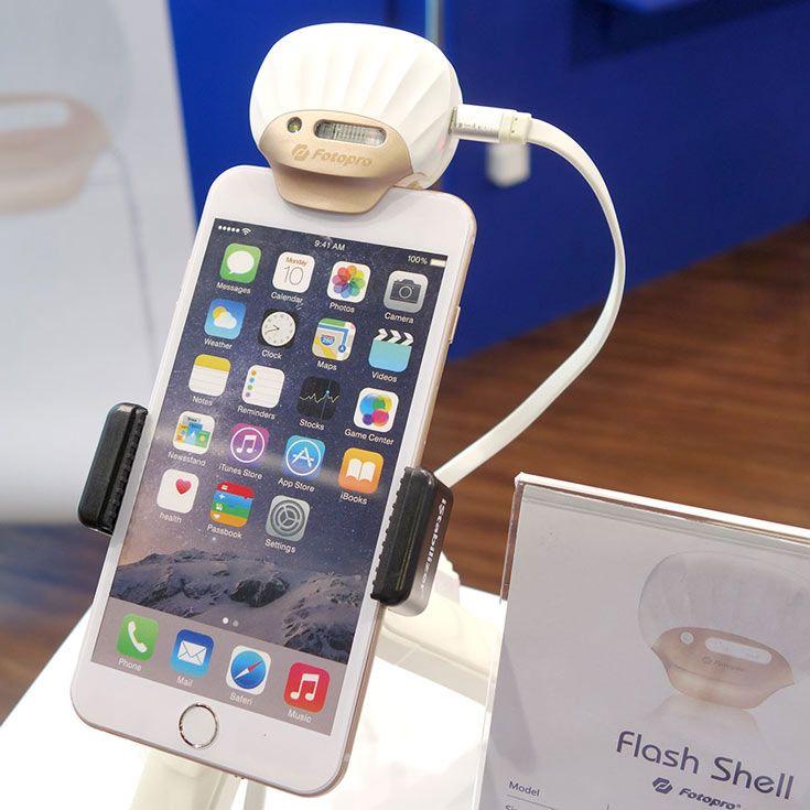 Fotopro FS-X1  внешняя ксеноновая вспышка для смартфонов Apple iPhone