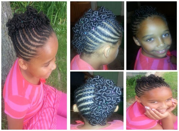 pictures of little black girls hair styles mohawk with coils style i did on my 2102 | d72313df27a4b3a072f811c81229ca9c beads cornrow