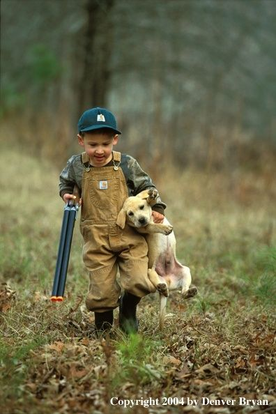 Adorable little country boy