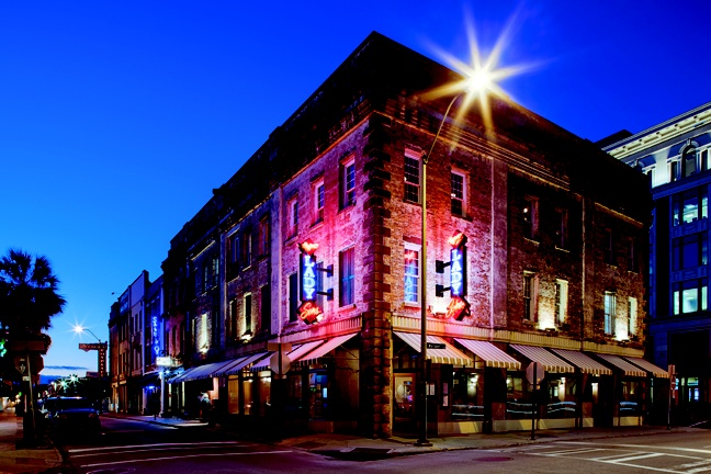 Lady & Son's, Paula Dean's restaurant in downtown Savannah. Photographed by Beau Kester