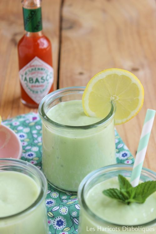 Soupe froide avocat concombre (3)