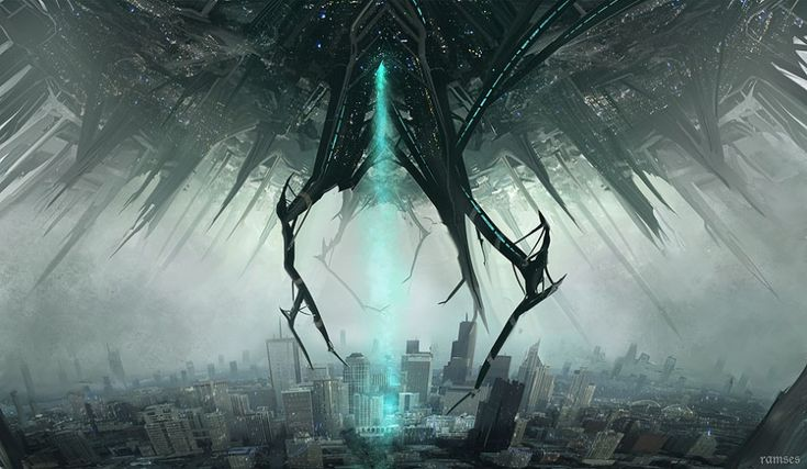 How to Survive an Alien Invasion — Alien Invasion by Ramsesmelendez —  http://chanofamerica.com/how-to-survive-an-alien-invasion-attack/