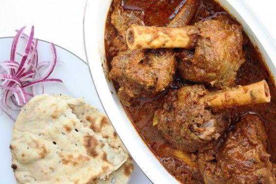 Nalli Gosht | Lamb shanks in a spiced yogurt curry | recipe