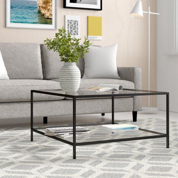 Norval Coffee Table In 2020 Coffee Table Coffee Table With Storage Chic Coffee Table