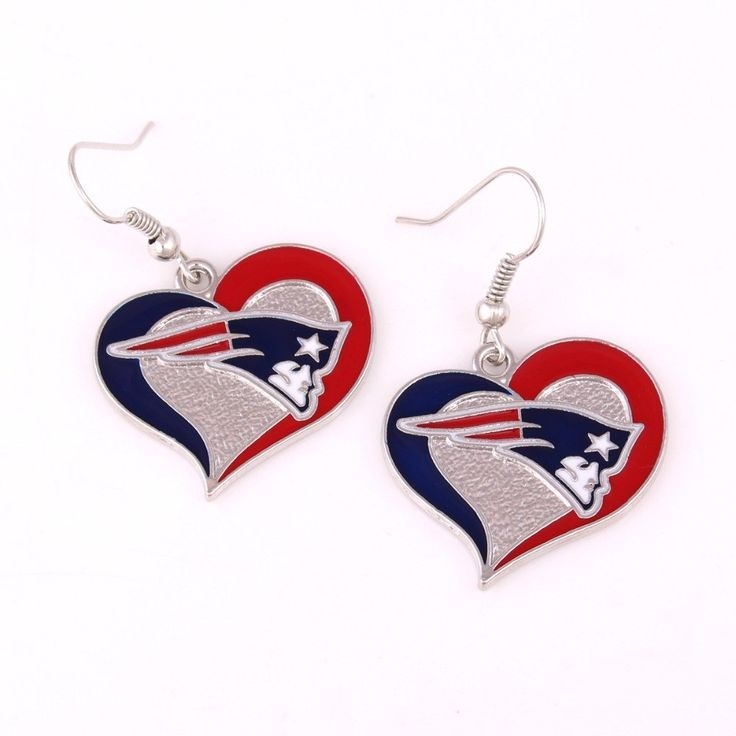 LOVE THE NEW ENGLAND PATRIOTS FOOTBALL TEAM? Save 50% Off today! Let the world know how much you love the New England Patriots with these very trendy super cute earrings! Make sure to orders a few ext