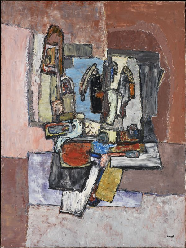 'Substantial Composition' (1958) by Jacques Doucet