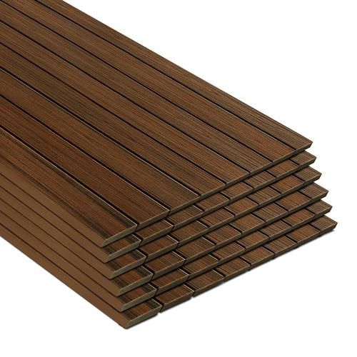 Shop Trex Transcend 48 Pack 16 Ft Spiced Rum Composite Deck Board In The Composite Deck Boards Sectio In 2020 Composite Decking Boards Trex Transcend Composite Decking