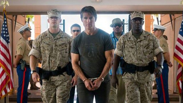 Tom Crusie as Ethan Hunt in Mission Impossible rogue Nation Trailer