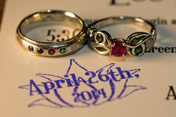 MAGIC: The Gathering Rings. Maybe Christof would like the guys one.