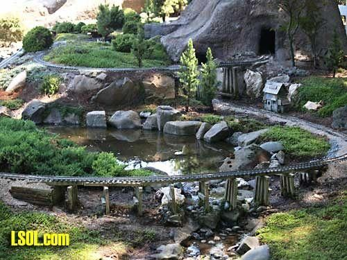 17 Best ideas about Garden Railroad on Pinterest Model trains