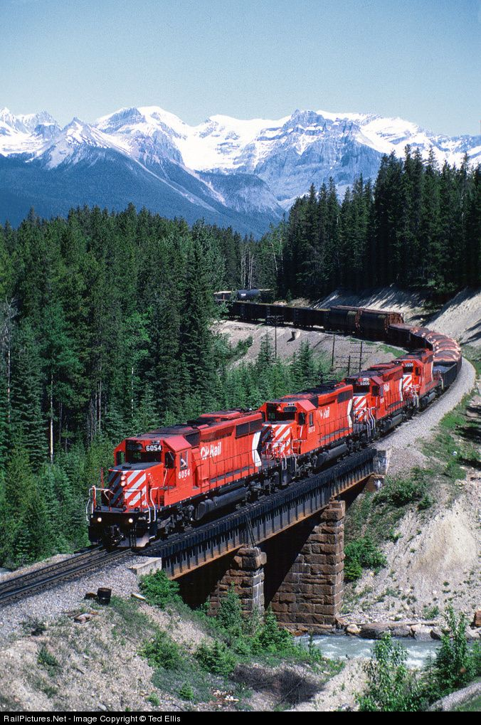 RailPictures.Net Photo: CP 6054 Canadian Pacific Railway EMD SD40-2 at Ottertail, British Columbia, Canada by Ted Ellis