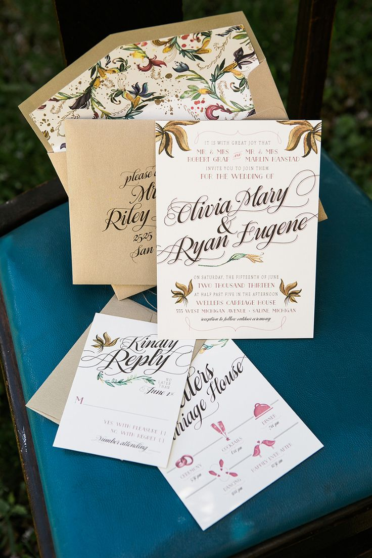 13 best wedding invitation card images on Pinterest | Weddings ...