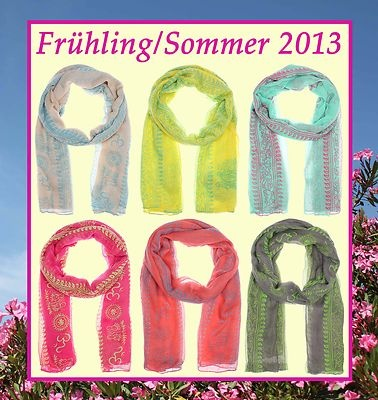 Schal, Tuch Frühling/Sommer 2013 Muster Indien € 10,90