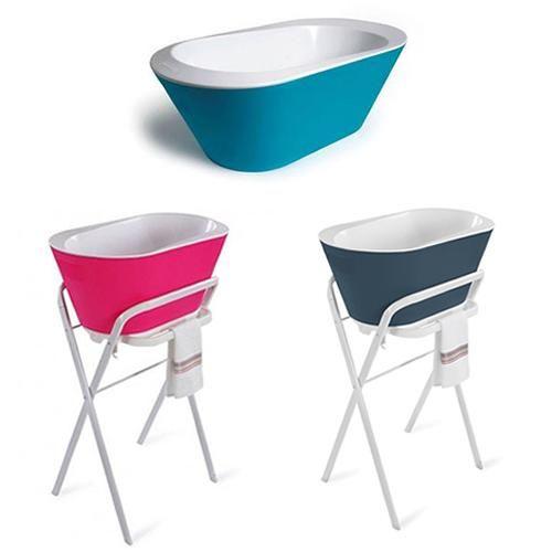 La moderna bañera para bebés con el estilo de Hoppop