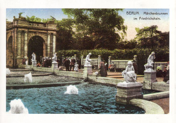 Märchenbrunnen Friedrichshain 1913 - Volkspark Friedrichshain – Wikipedia