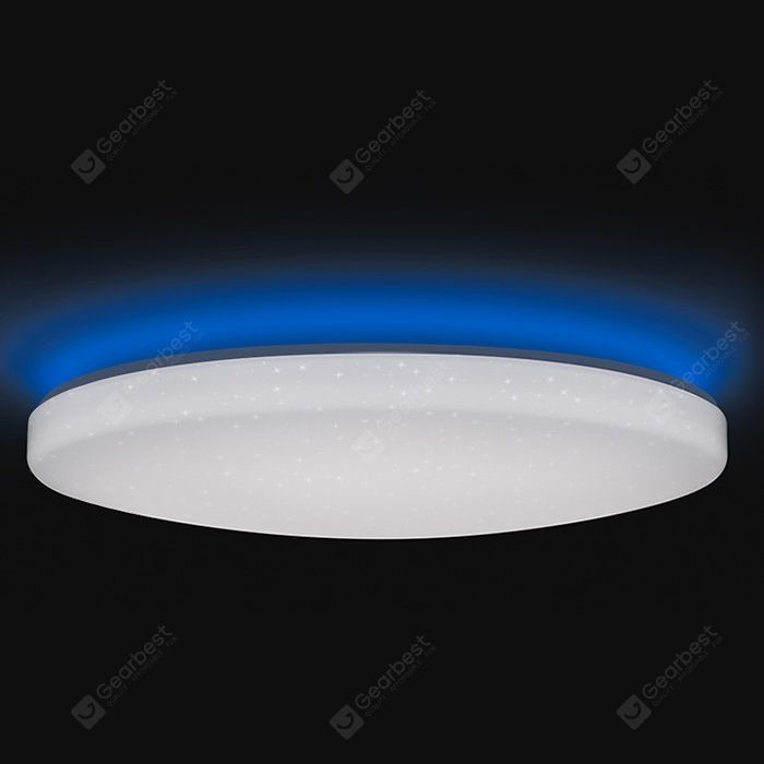 Yeelight Jiaoyue Ylxd02yl 650mm 50w Smart Led Ceiling Light 16 Million Color Surrounding Ambient Lighting Xiaomi Ecosystem Product In 2020 Ceiling Lights Led Ceiling Lights Led Ceiling