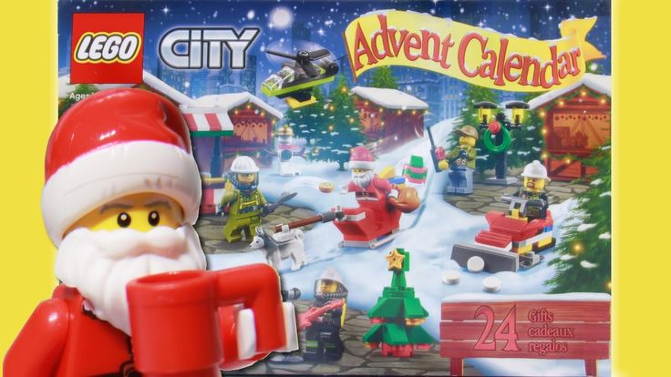 LEGO Toys | City Advent Calendar 2016 stop motion build video: https://youtu.be/JtnZNpOpj6M