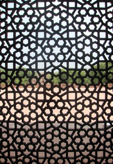 wall decor or room divider/screens to create intrigue in a single large room