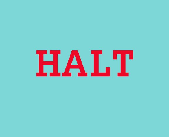 HALT is a simple acronym that can help identify and address what is bothering us. Take a moment (HALT) and see if you are Hungry, Angry, Lonely, or Tired.