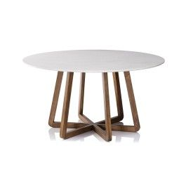 San Fran Deco Round Dining Table