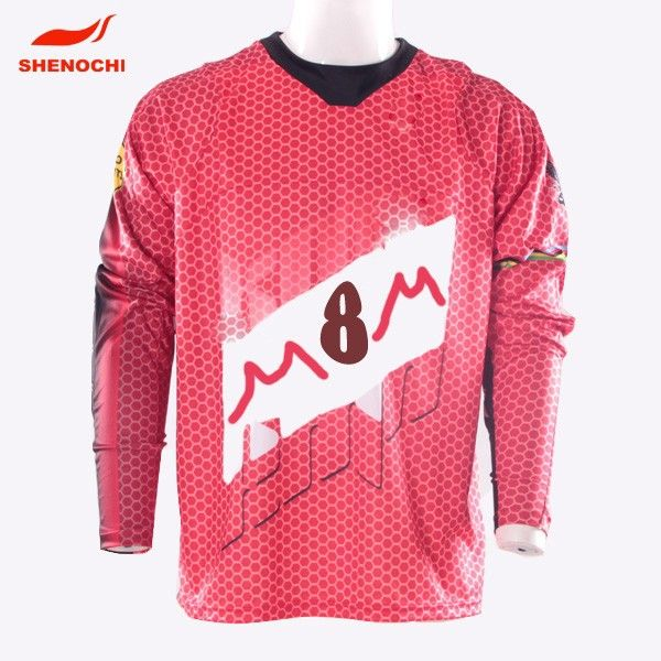 China Wholesale Long Sleeves 100% Polyester Sublimation Rugby Clothing #rugby_clothing, #Sleeve