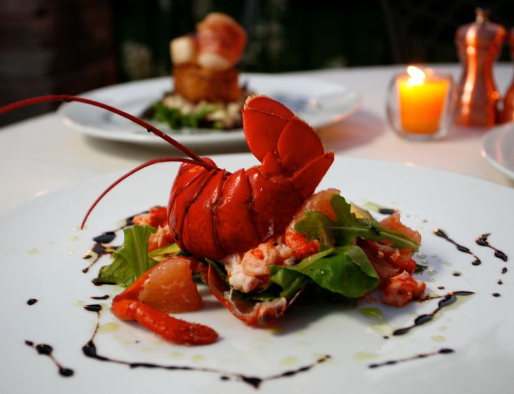 Fine Dining Loster Fine Dining Lobster Drinks On The