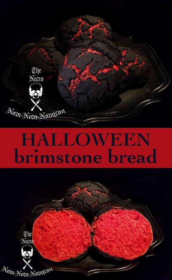 Gerüchten zufolge rollen Dämonen in der Hölle, wenn sie dieses Brot machen, den Te …