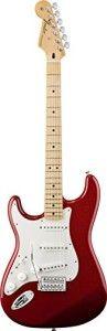Fender Standard Stratocaster, Left Handed, Maple Fingerboard - Candy Apple Red