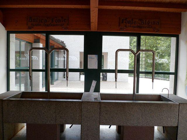 Sala cura idropinica www.termepejo.it