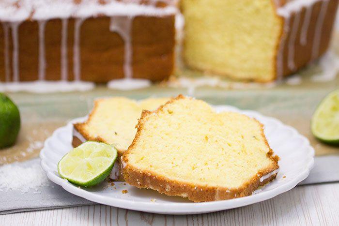 Kokos-Limetten-Kuchen