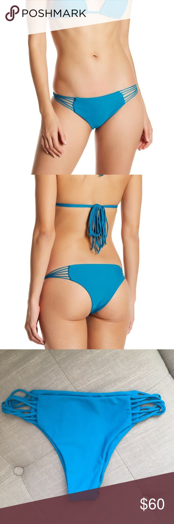 MIKOH Swimwear Lanai bottom in Marina BRAND NEW MIKOH Swimwear Lanai bottom, marina solmar color. BRAND NEW without tags, liner still on, never worn! Fully seamless, skimpy coverage. Mikoh Swim Bikinis