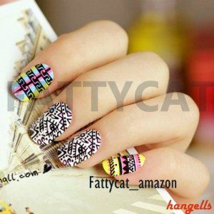 Fashion Japanese 3D Nail Art Achiote Love 24 Nails Sold By Fattycat by FATTYCAT-2D. $9.99. 24 PIECES/BOX in 2D. Color: as picture. For more CHEAPER products   http://www.amazon.com/shops/A1GBEMJFT8C30R. ** Come with Double-sided adhesive sheet  How to apply effectively:   1. Clean your nail, remove old polish on your nails  2.  Select the right size tips and double-sided adhesive sheets for all ten fingers and arrange them in the sequence they will be applied. If you are unable ...