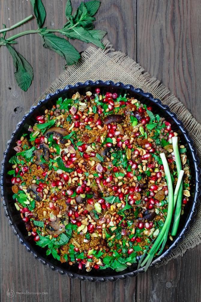 Easy warm couscous recipe