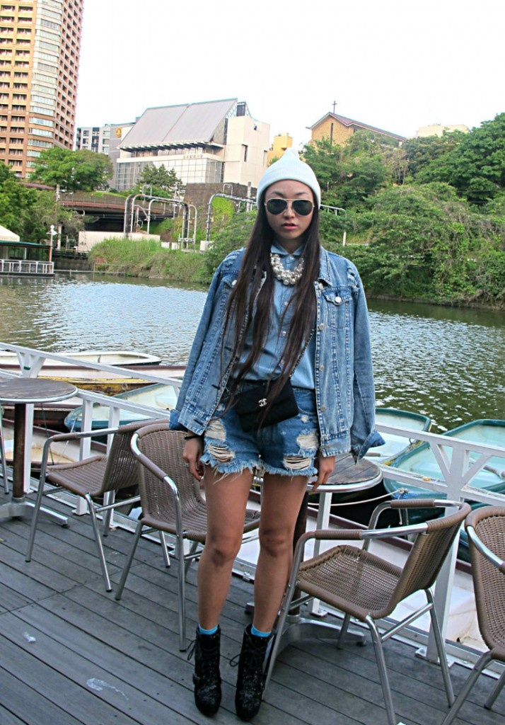 Millennium Classic Denim My Way  http://youstylexx.blogspot.jp/2013/05/zoolook-x-nylon-japan-fashion-snap_15.html