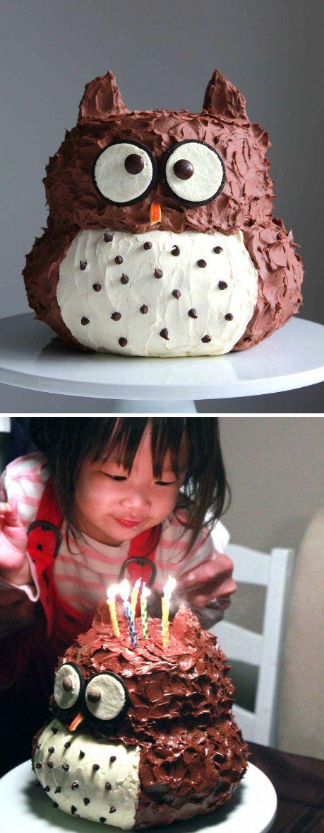 Eulen-Kuchen :)