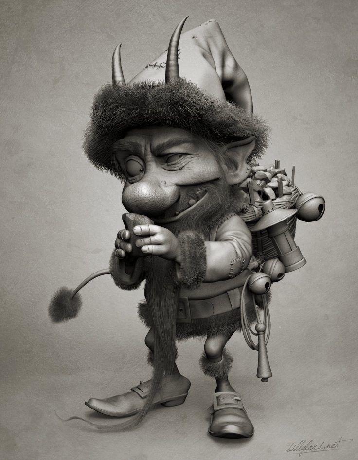 Little Krampus by Billy Lord