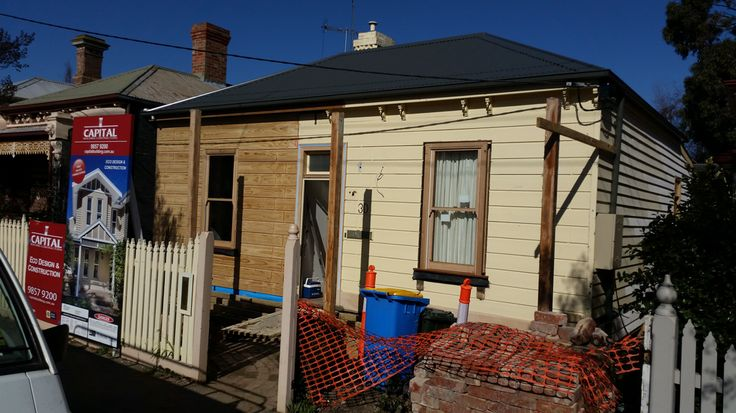 Victorian Terrace Before Extension Melbourne Builder Capital Building Contractors