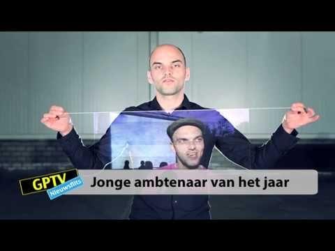 GPTV: Wybren Jorritsma Jonge Ambtenaar van het Jaar - YouTube