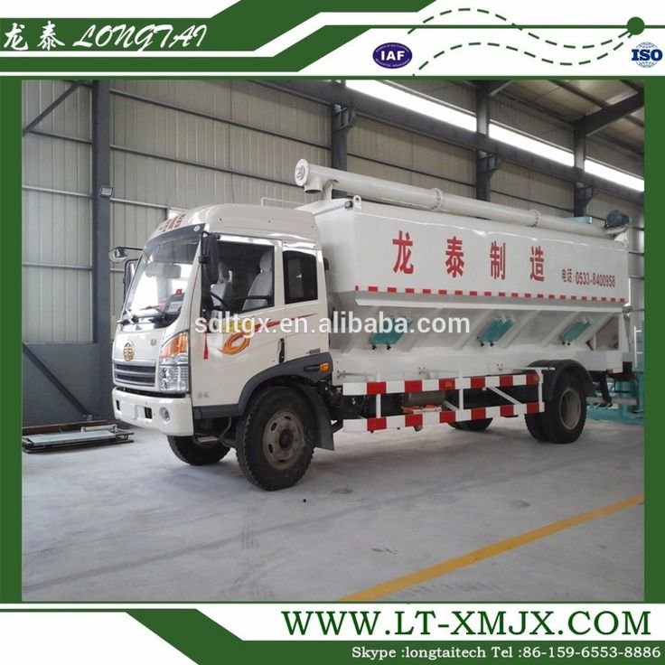Factory price High quality bulk feed delivery truck for sale